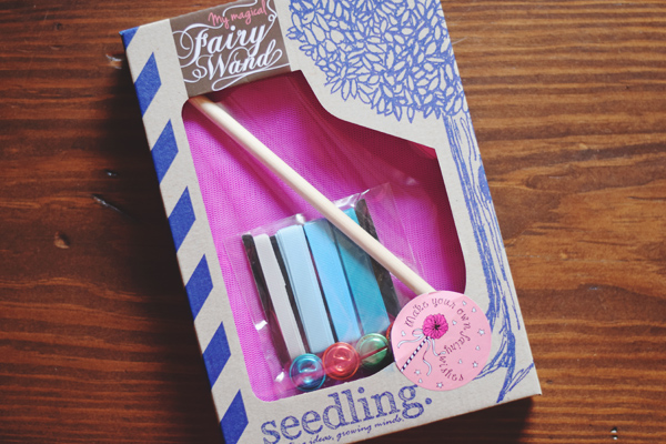makey thursday! make your own fairy wand with seedling!