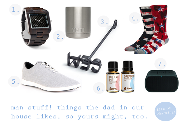 obsessed: man stuff! things the dad in our house likes, so maybe yours might, too. aka. father's day ideas!