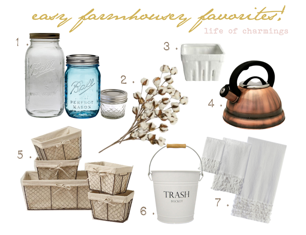 obsessed: easy farmhouse favorites!