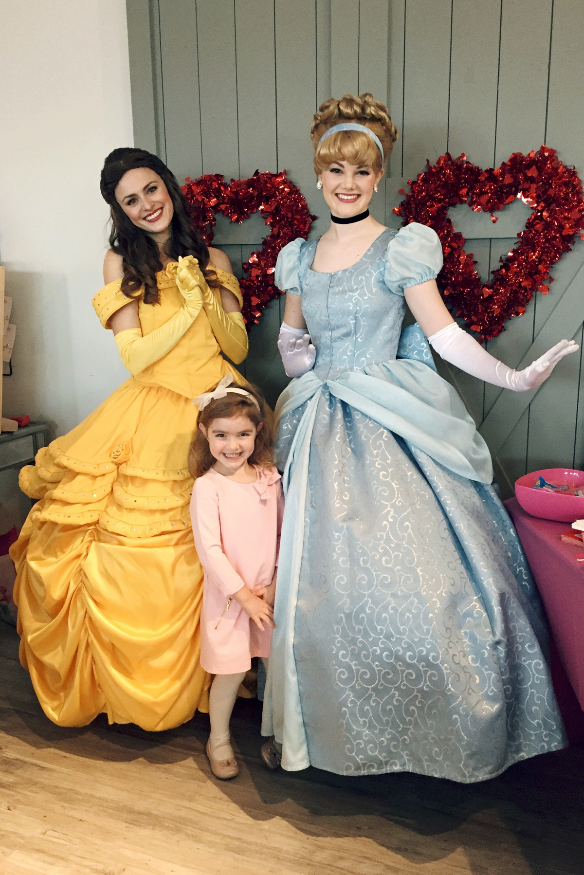a little saturday with princesses!
