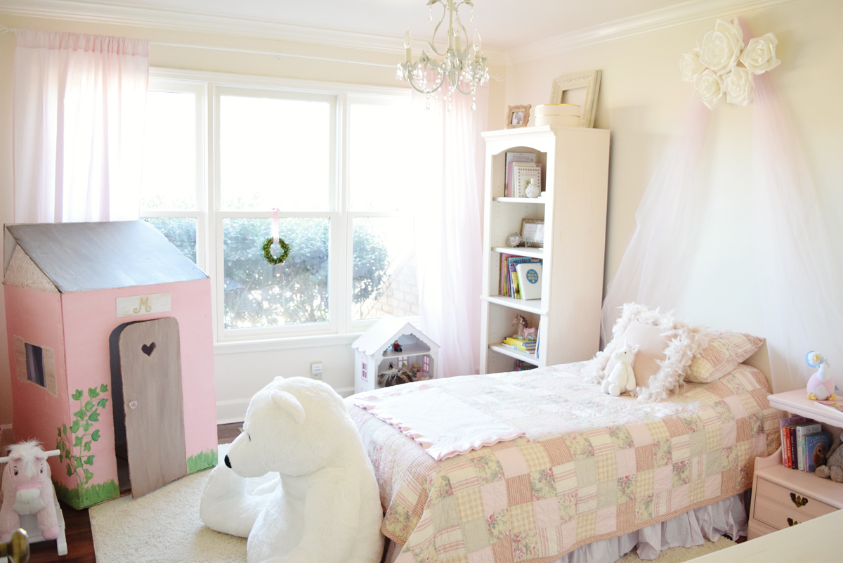 house peeks: a big girl bedroom for a sweet little princess!