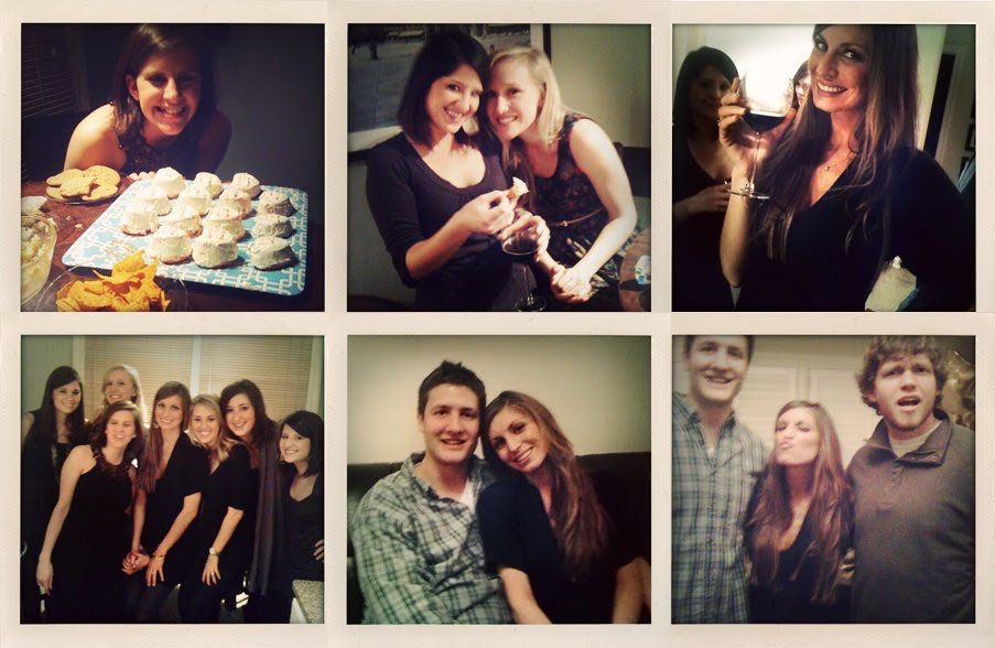 happy us. happy friends. happy birthday. happy weekend.