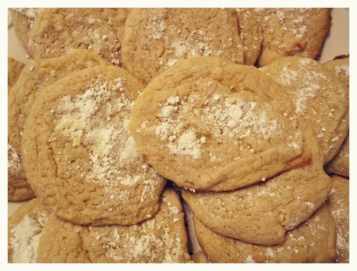 eggless lemon sugar cookies