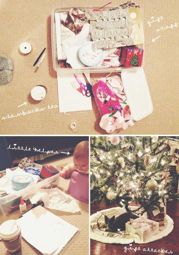 faaa-la-la, gifts under the tree!