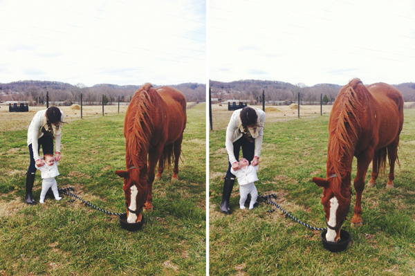 a little more horsey happiness