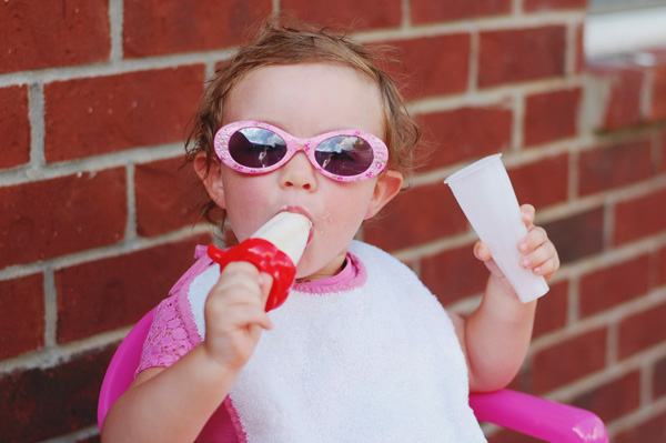 one popsicle summer, coming right up!