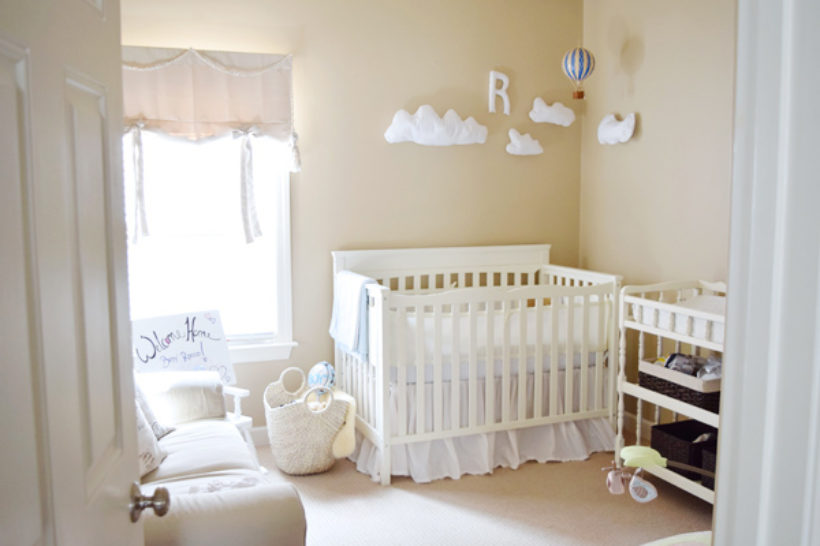baby rocco's room!