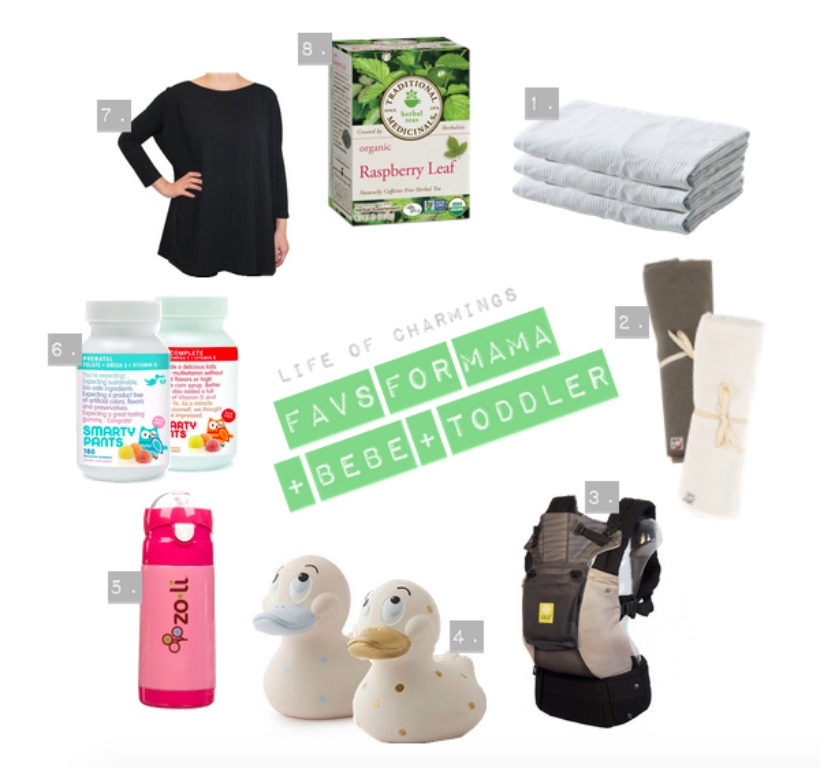 obsessed: favs for mama + bebe + toddler! PLUS! a giveaway with SmartyPants vitamins! [closed]