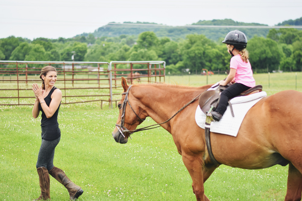 maddalena's riding lesson!