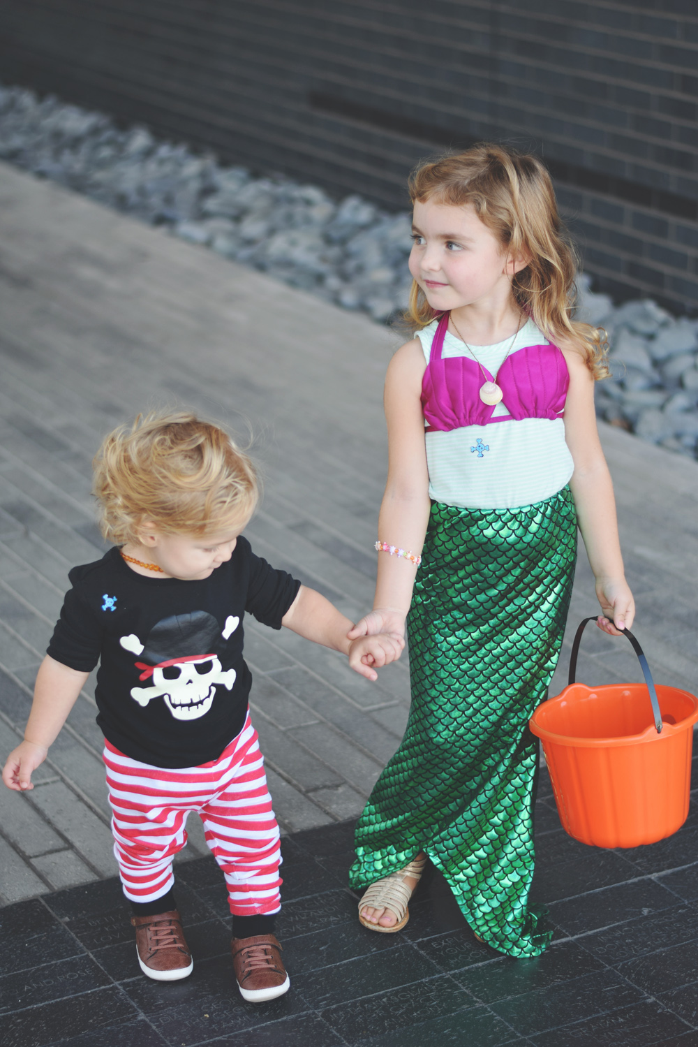 happy halloween from the sweetest little mermaid and pirate i ever did SEA!!