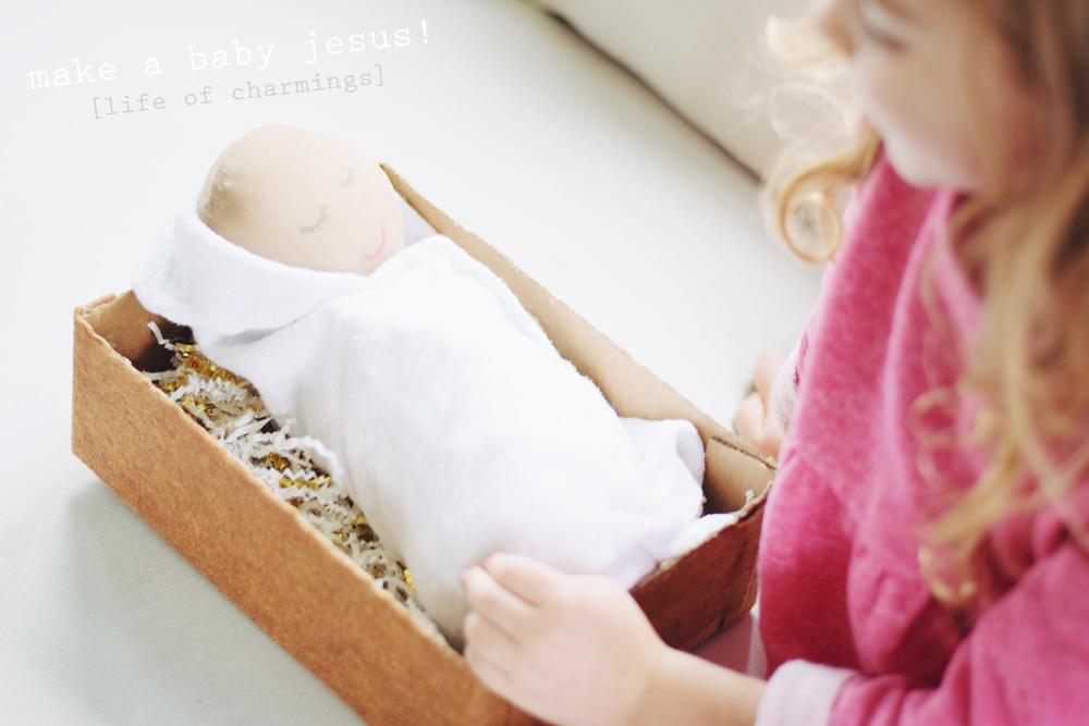 make a baby jesus!