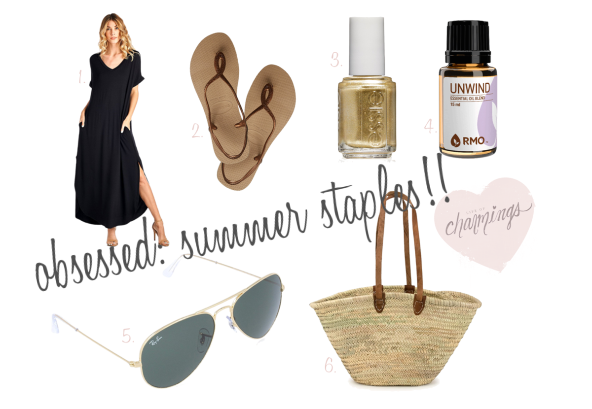 obsessed: summer staples!!