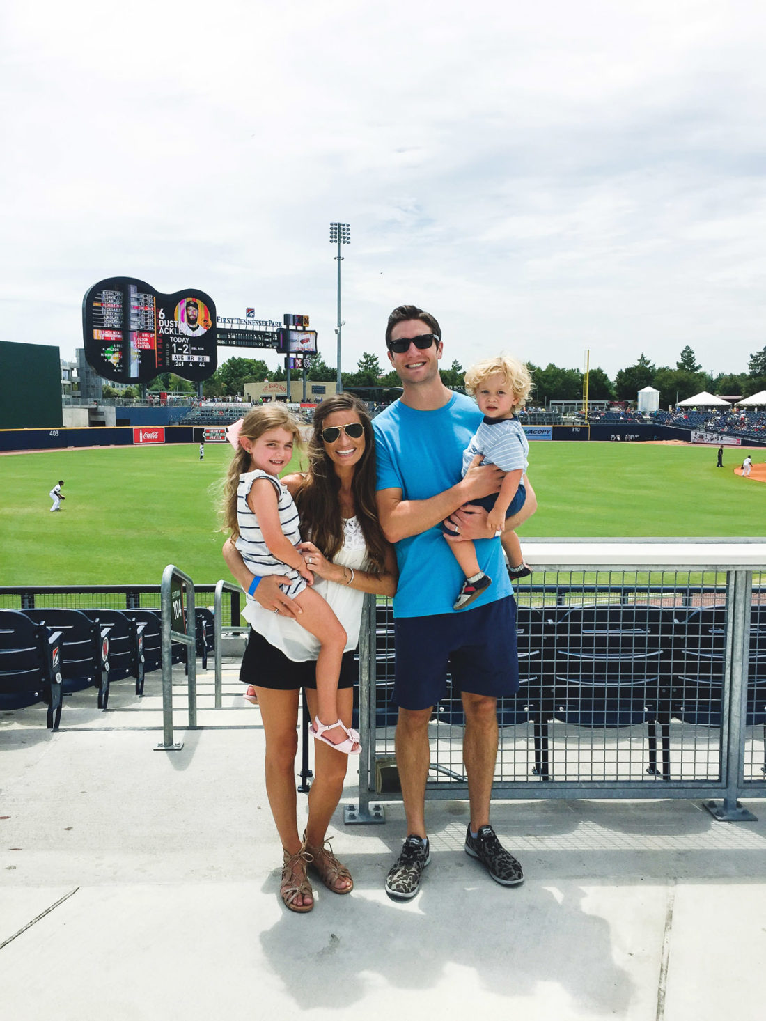 take us out to the baaall gaaaaame… [a little visit to the nashville sounds!]