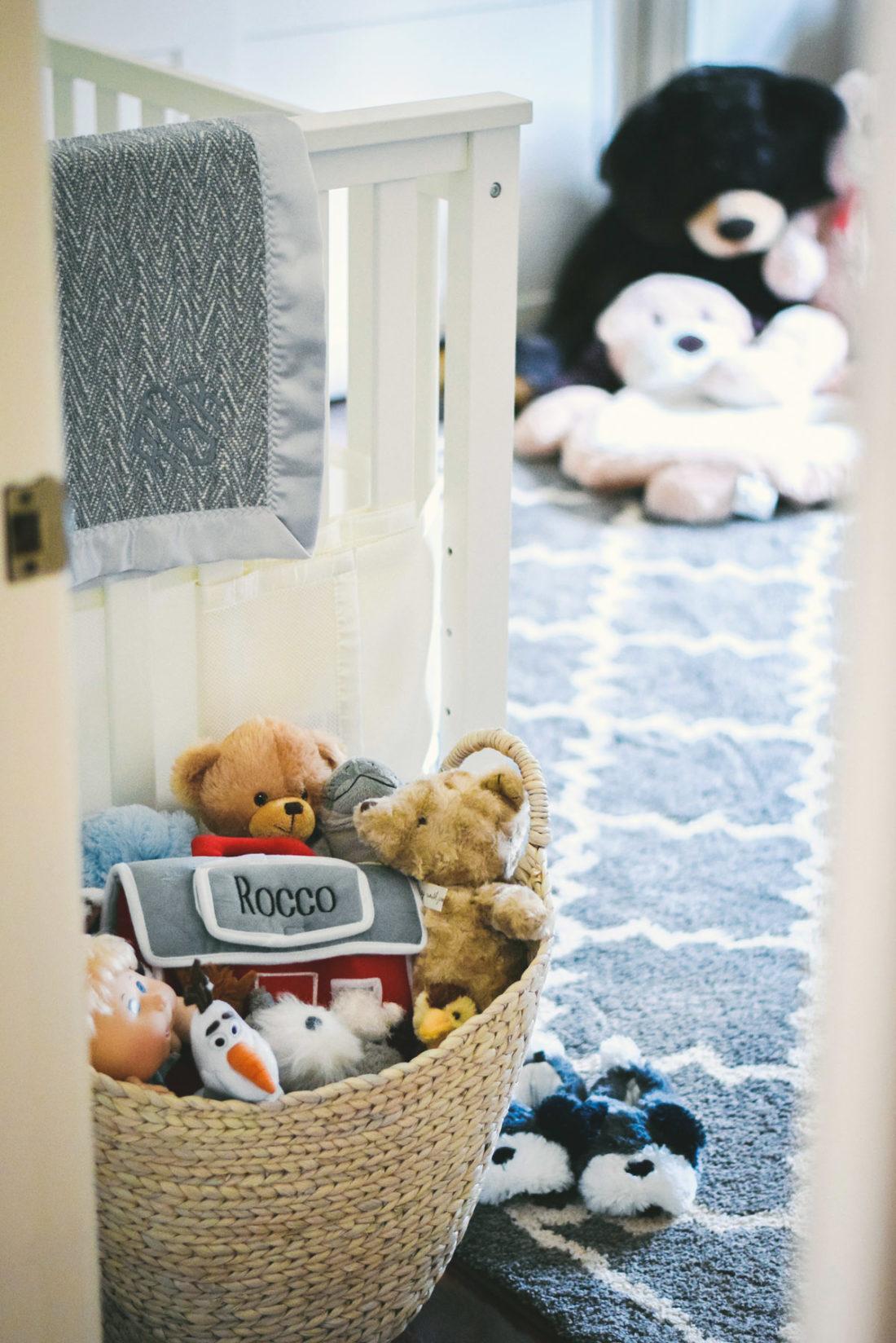 house peeks: rocco's nursery!